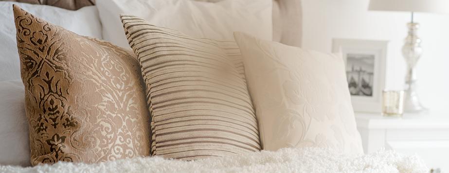 Luxusní povlaky na polštáře